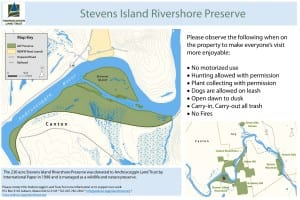 Stevens Island Map
