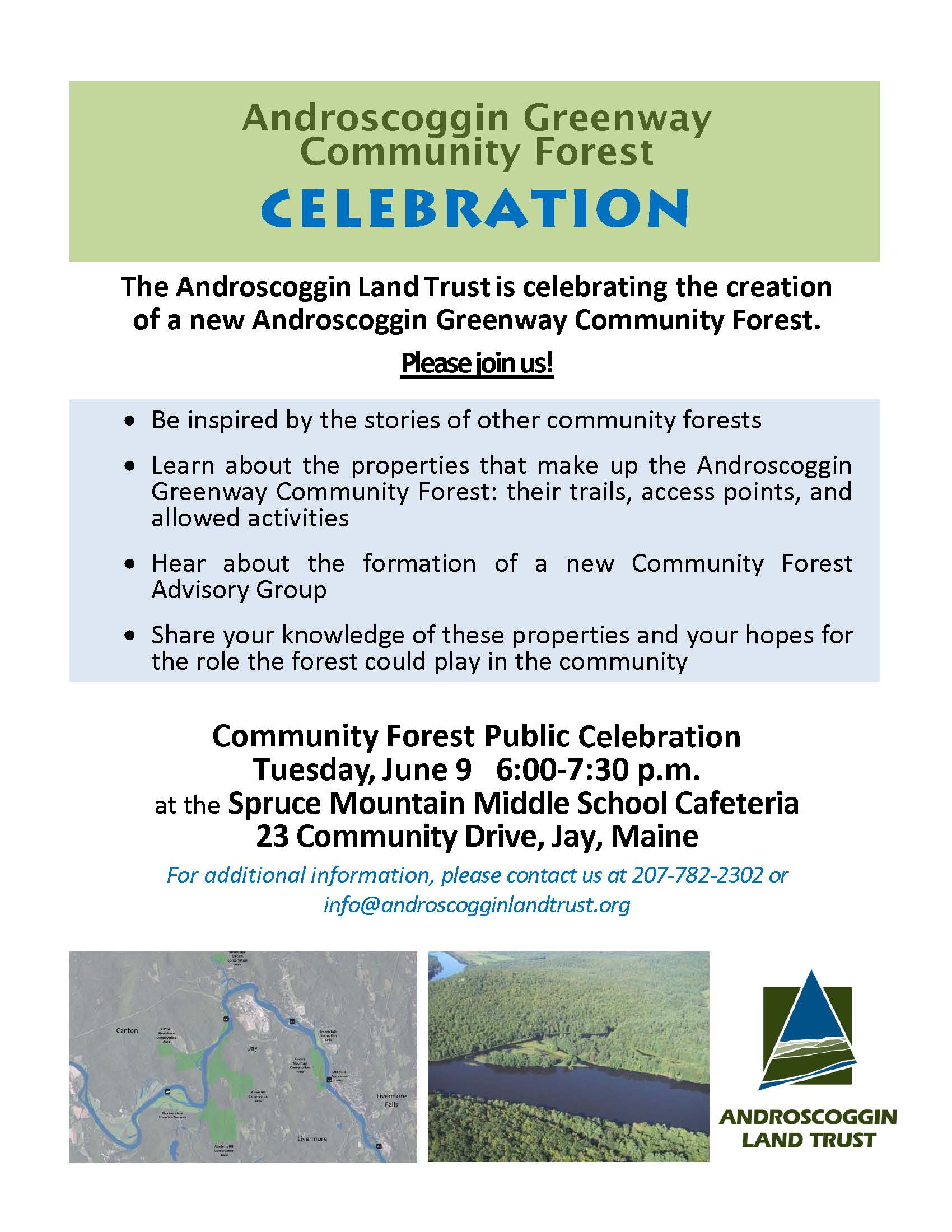 Community Forest Celebration June 9