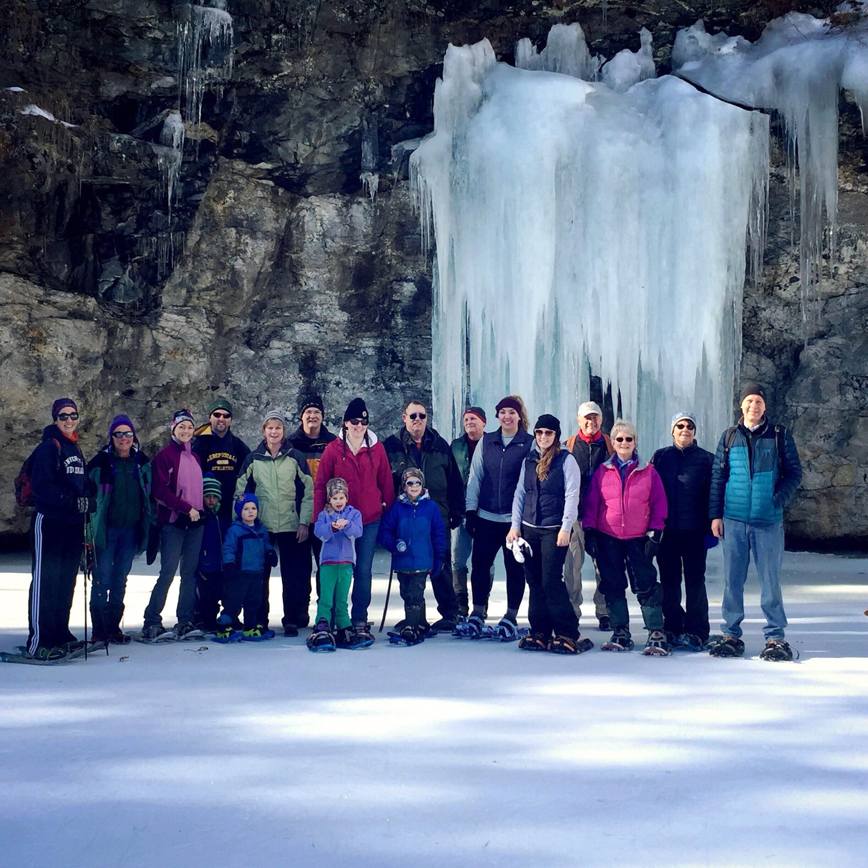 Snowshoe Hike at Mt  Apatite for Auburn Winter Fest